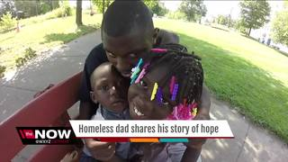 Dad of 3 shares his struggle with homelessness