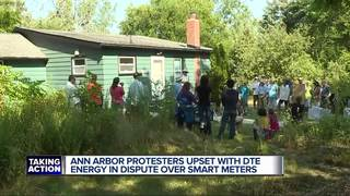 Protests over smart meter installation