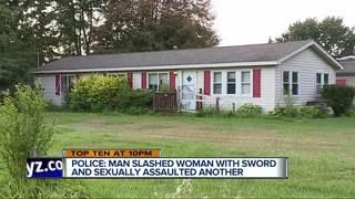 Man wielding sword attacks Monroe County women