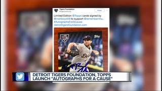 Tigers, Topps create custom cards for charity