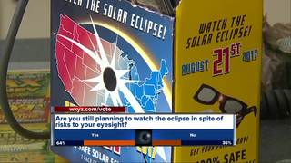 NASA approved eclipse viewing glasses disappear