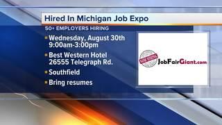 Job Expo on August 30, 2017