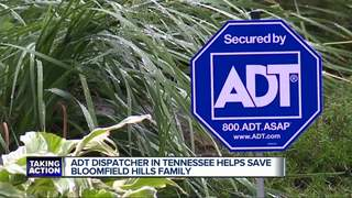 ADT worker saves family from CO poisoning