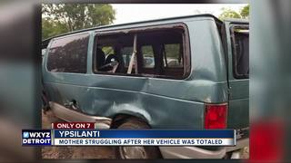 Family struggles with loss of handicapped van