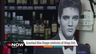 Metro Detroit party store remembers Elvis