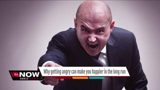 Getting angry may make you happier in long run