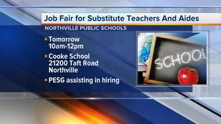 Northville School District is hiring substitutes