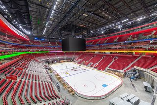 PHOTOS: There's ice at Little Caesars Arena