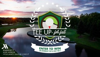 Tee Up for Fall golf giveaway contest