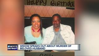 Widow speaks out about husband's vicious murder