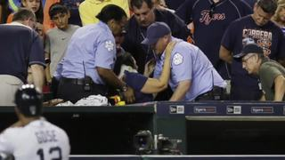 Tigers fan hit in head by foul ball tells story