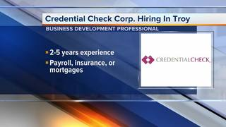 Credential Check Corporation hiring in Troy