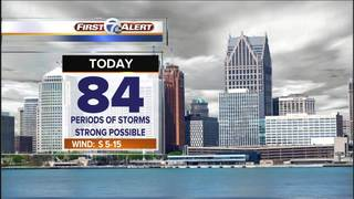 FORECAST: Storm chances end overnight