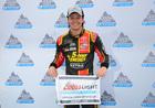 Jones wins 1st Cup pole in critical Bristol race