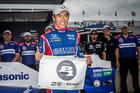 Indy 500 champion Takuma Sato wins Pocono pole