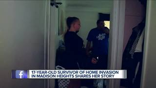 Teen details frightening home invasion