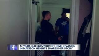 Teen details frightening home invasion