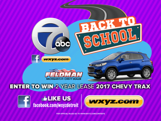 Enter to win a brand new SUV!