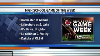 VOTE: 2017 High school football game of the week