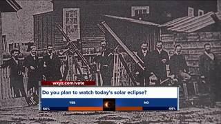EMU's strange connection to Edison, 1878 eclipse