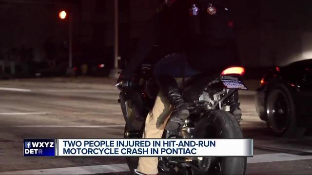 Man, woman seriously injured in hit and run crash after leaving