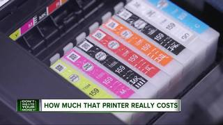 The real cost of your printer