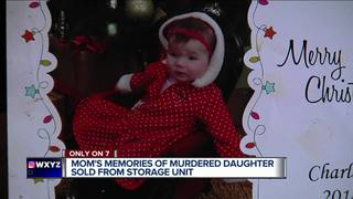 Mom: Baby pictures were sold with storage unit