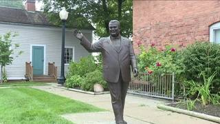 Plans on hold controversial Dearborn statue