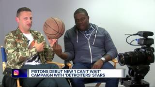 Pistons debut new campaign with Detroiters stars