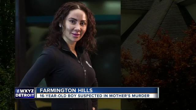 Teenage boy in custody following mom's slaying in Farmington Hills