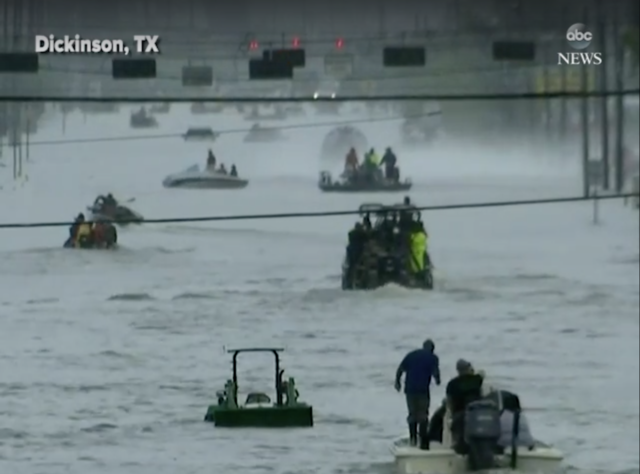 Boat owners asked to help in Houston rescues