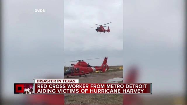 Red Cross responders from Virginia helping in Harvey relief