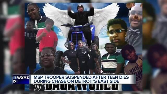 Dead teen's family seeks millions from MI trooper