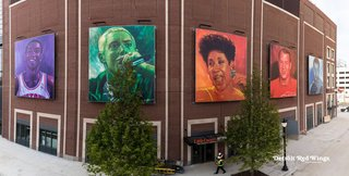 Howe, Thomas featured on new LCA murals