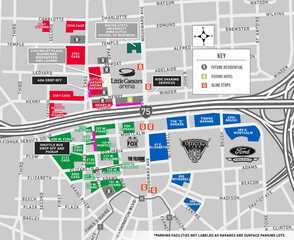Where to park for Little Caesars Arena events