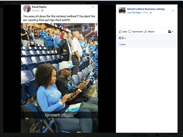 Lions fan banned by team after posting racist message