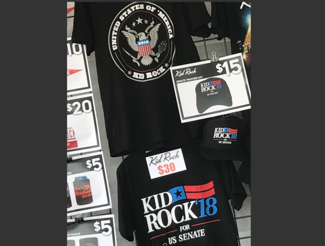 Potential Senate Candidate Kid Rock Declares,