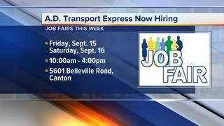 A.D. Transport Express hiring drivers, techs