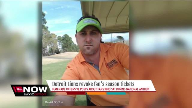 Lions fan who made racist Snapchat post surrenders season tickets