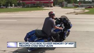 Motorcycle ride Saturday honors Trooper Wolf