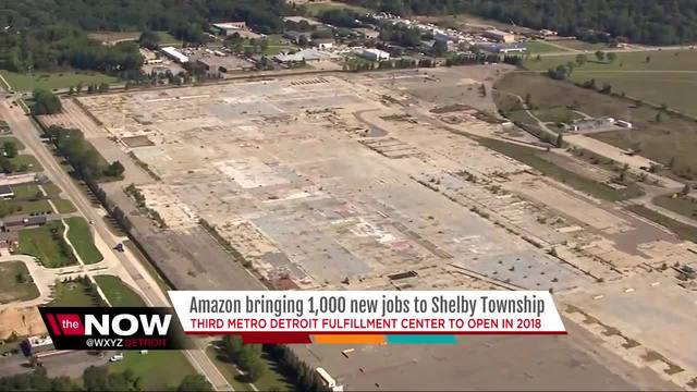 Amazon To Build Fulfillment Facility In Shelby Township, Hire 1000