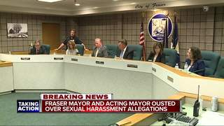 Fraser council removes mayor, acting mayor