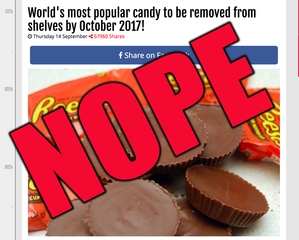 No, Reese's Peanut Butter Cups aren't going away