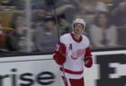 VIDEO: Larkin's wild goal in Red Wings game