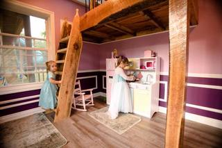 PHOTOS: Lavish 2-story dream playhouse