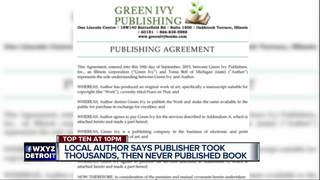 Publisher runs off with local authors money