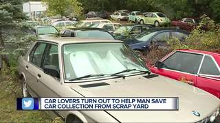 Car lovers flock to man ordered to sell 150 cars