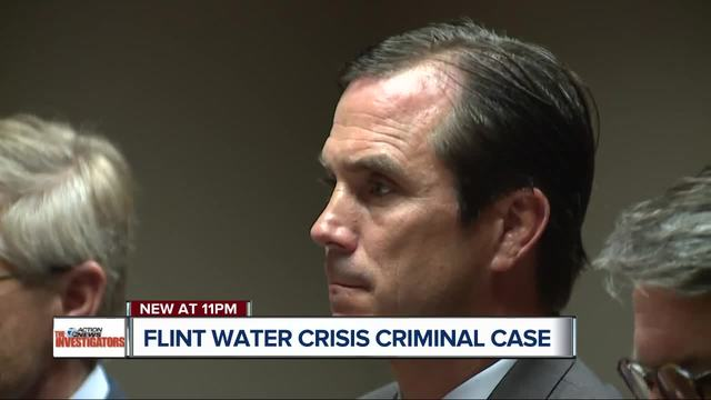 MI official faces key hearing in Flint water case