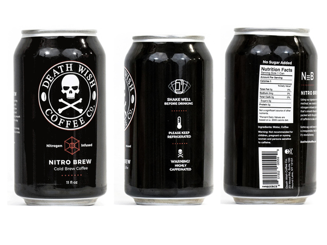 Death Wish Coffee announces recall of its Nitro Cold Brew