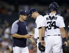 Twins rout Tigers, lead AL wild-card race
